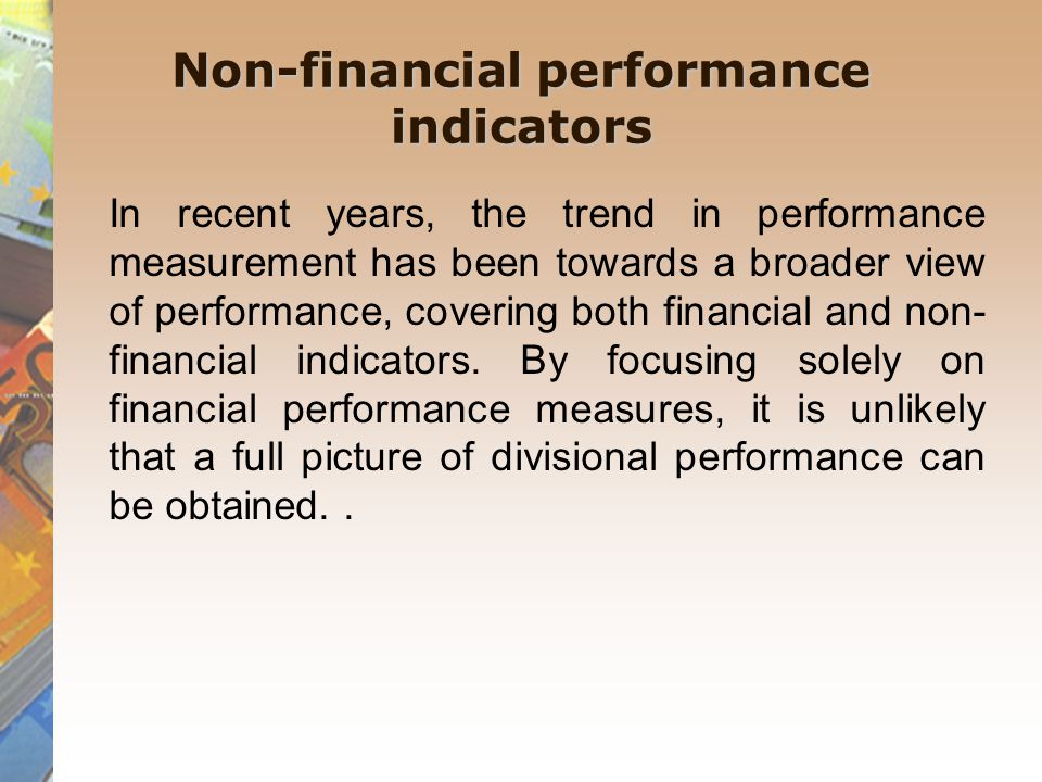 Key Performance and Non-financial Indicators (KPI's): My Final Checklist