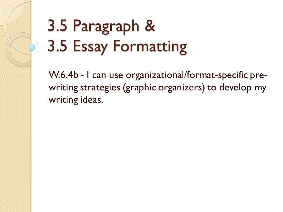 6 paragraph essay examples