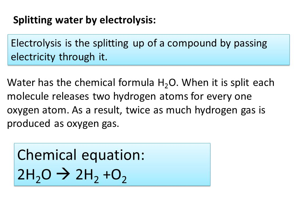 Hydrogen Gas Equation For Hydrogen Gas