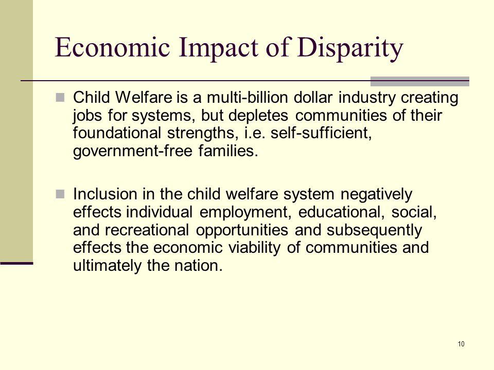 Economic Impact of Disparity