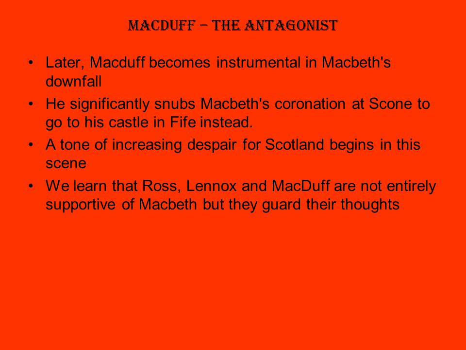 macbeth s corruption and downfall Reasons for macbeths tragic downfall  the cause for brave macbeths downfall is due to the misleading truths which produce negative thoughts and disables his .