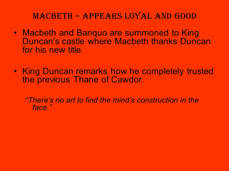 good macbeth Macbeth: cure her of that canst thou not minister to a mind diseased, pluck from the memory a rooted sorrow, raze out the written troubles of the brain, and with some sweet oblivious antidote cleanse the stuffed bosom of that perilous stuff which weighs upon her heart.