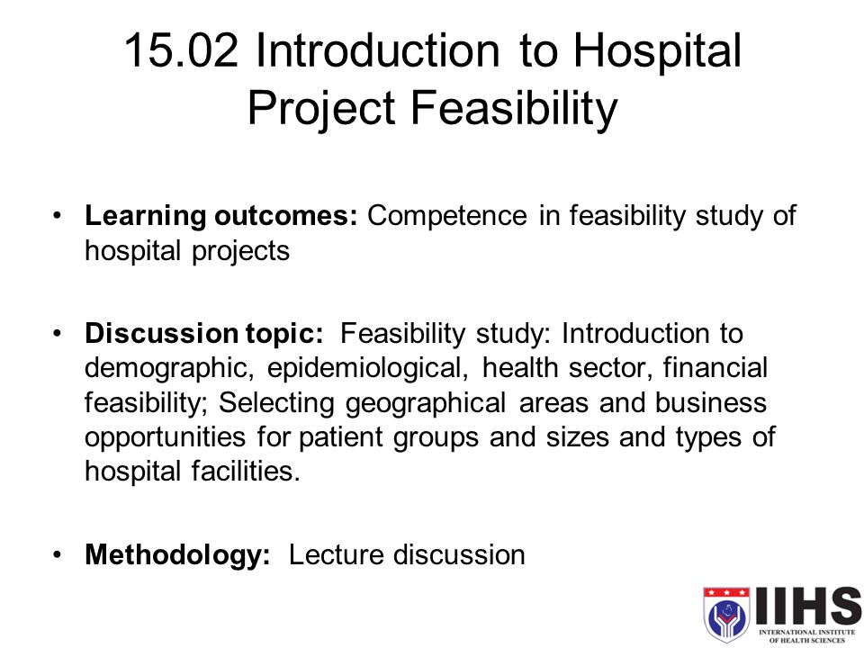 feasibility study research topic jollibee A feasibility study assesses the projects prospective for success with that said, this analysis is based on the extensive investigation and research to give a full ease to the decisions makers does.