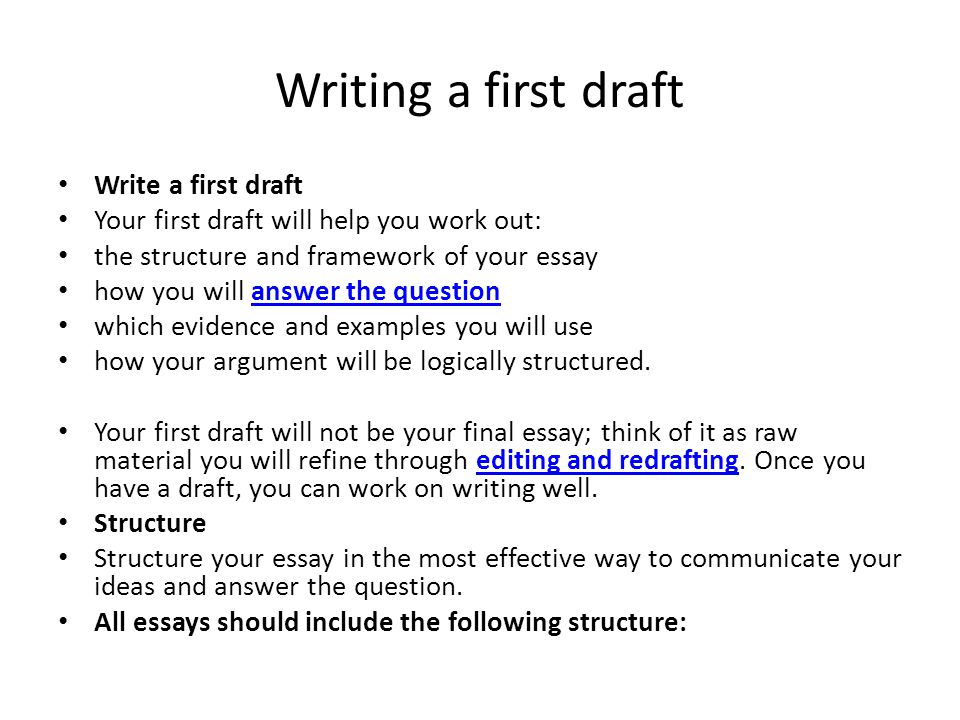 writing a first draft write a first draft essay draft example - Essay Draft Example