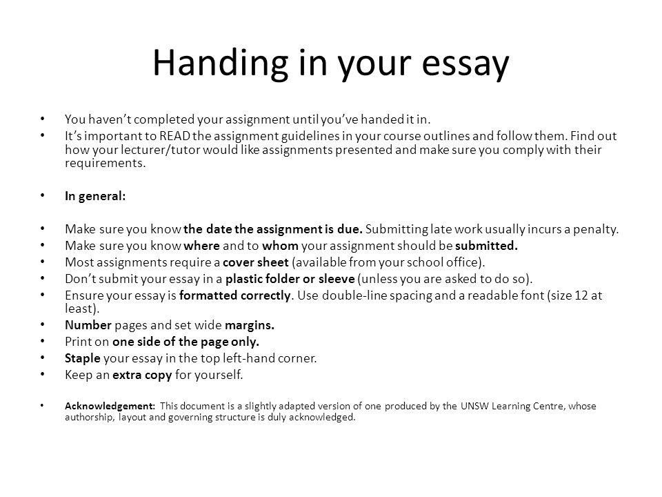 Essay 80 completed
