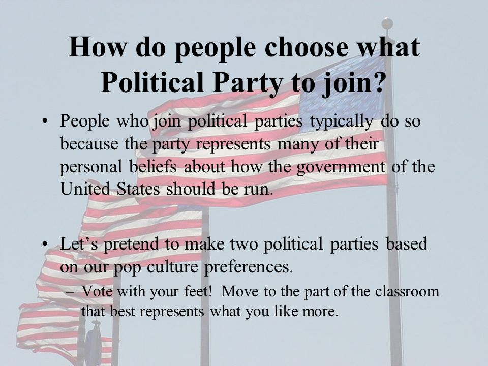 the development of political parties and Political party, a group of persons organized to acquire and exercise political power political parties originated in their modern form in europe and the united states in the 19th century, along with the electoral and parliamentary systems, whose development reflects the evolution of parties the .