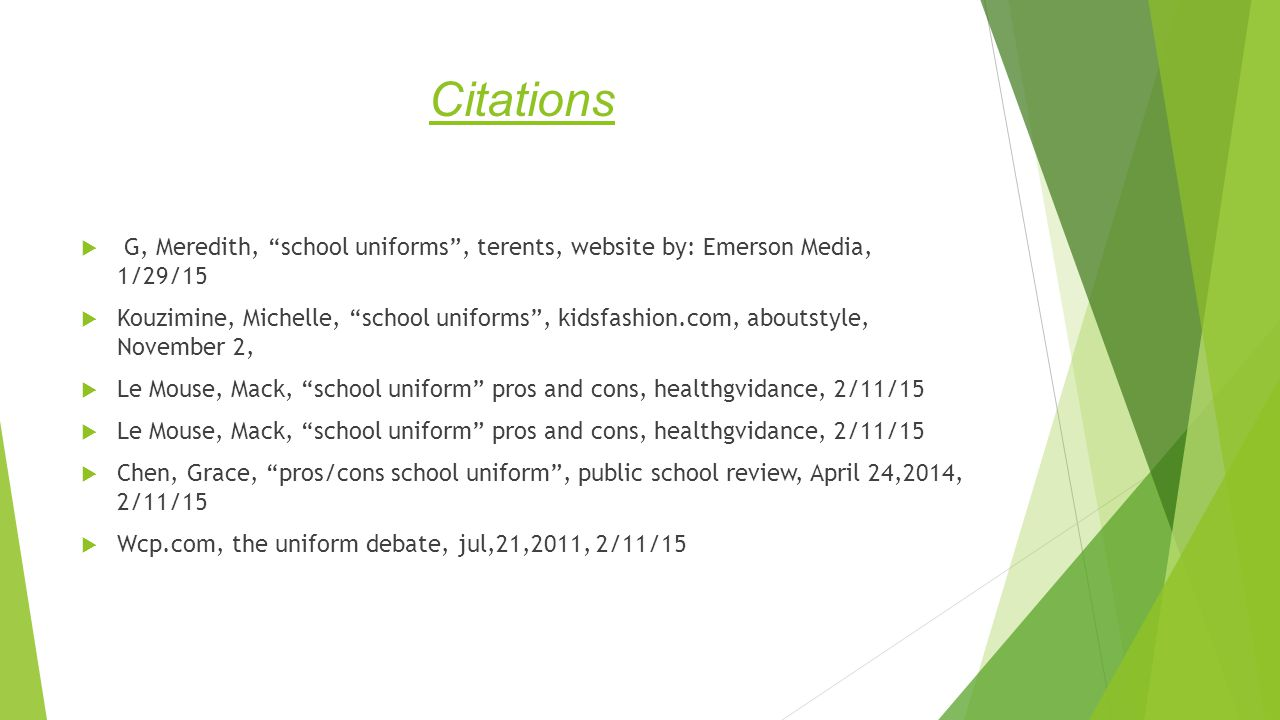 by abdulaziz al halmi b ppt citations g meredith school uniforms terents website by emerson media