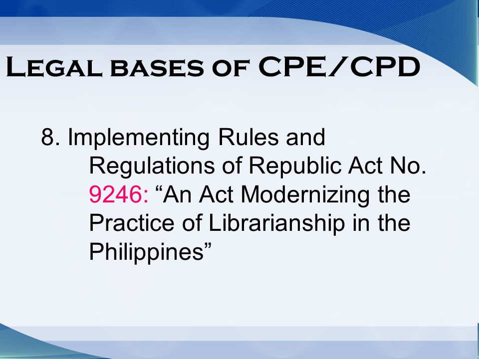 legal basis of implementation of k Philippine educational practices and their legal bases of parents and teachers in the formulation and implementation of such legal basis of education some.