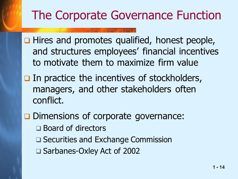 corporate governance and firm value pdf