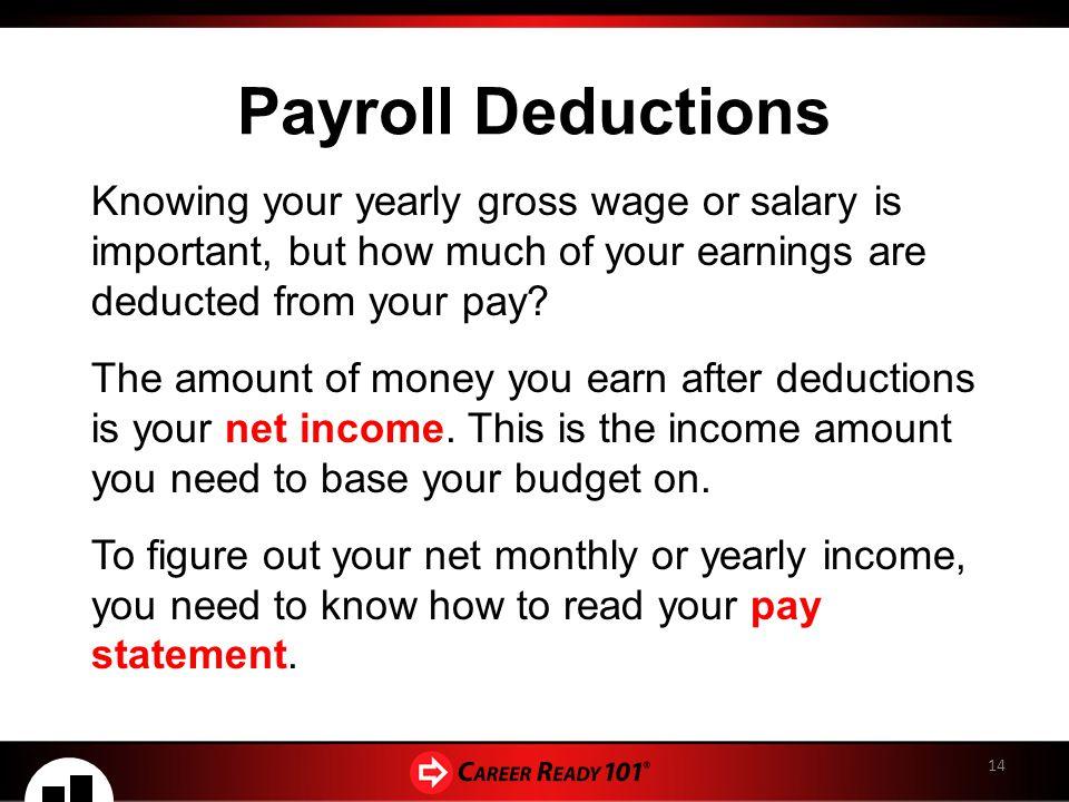 estimate payroll deductions