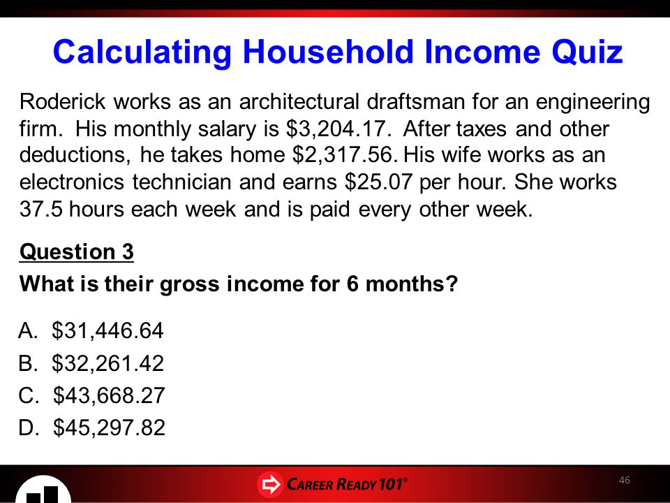 calculate monthly paycheck