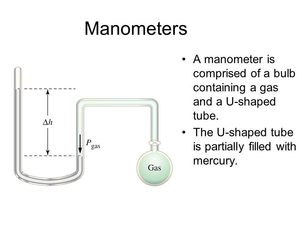 Manometers and barometers ppt video online download