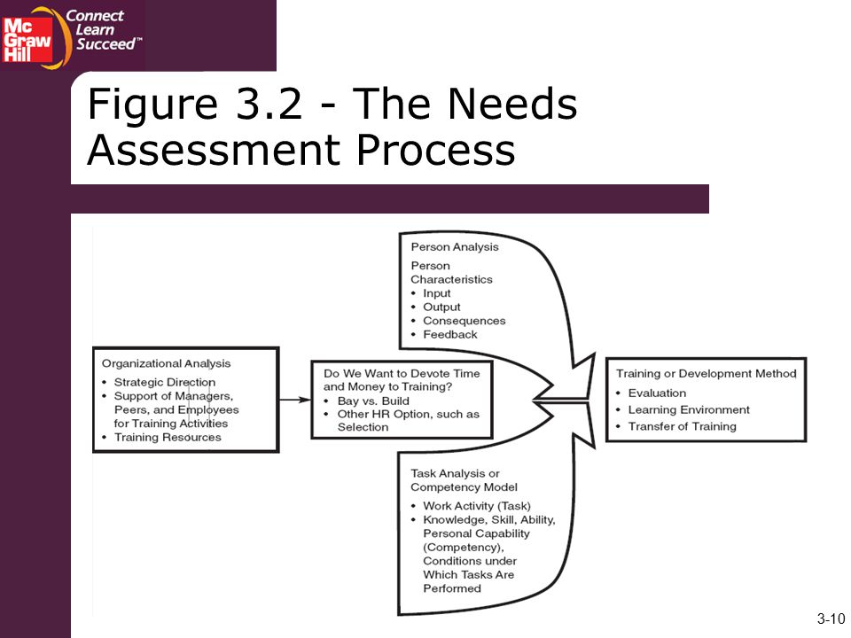 Figure The Needs Assessment Process
