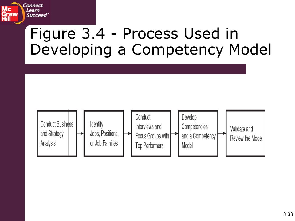 Figure Process Used in Developing a Competency Model