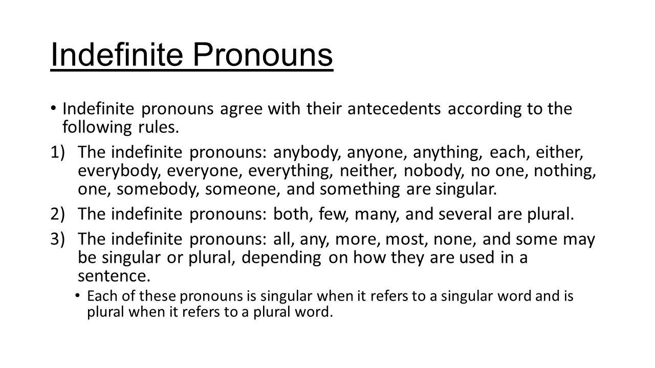 pronoun antecedent agreement rules pdf