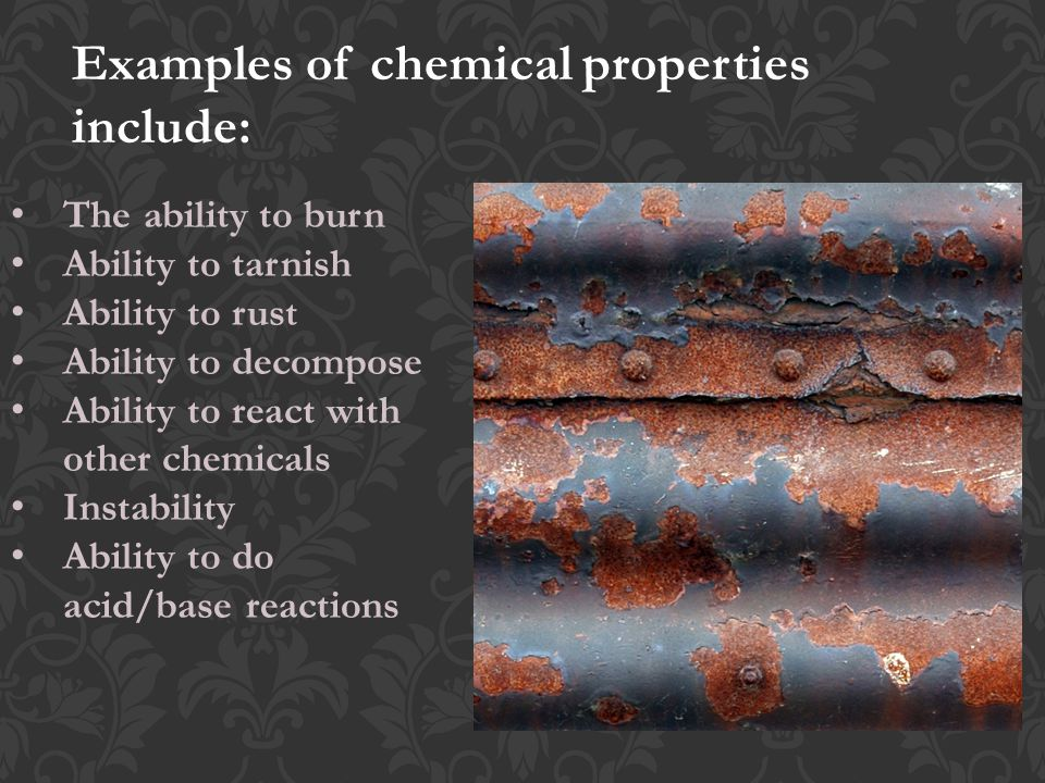 Different Types Of Chemical Properties