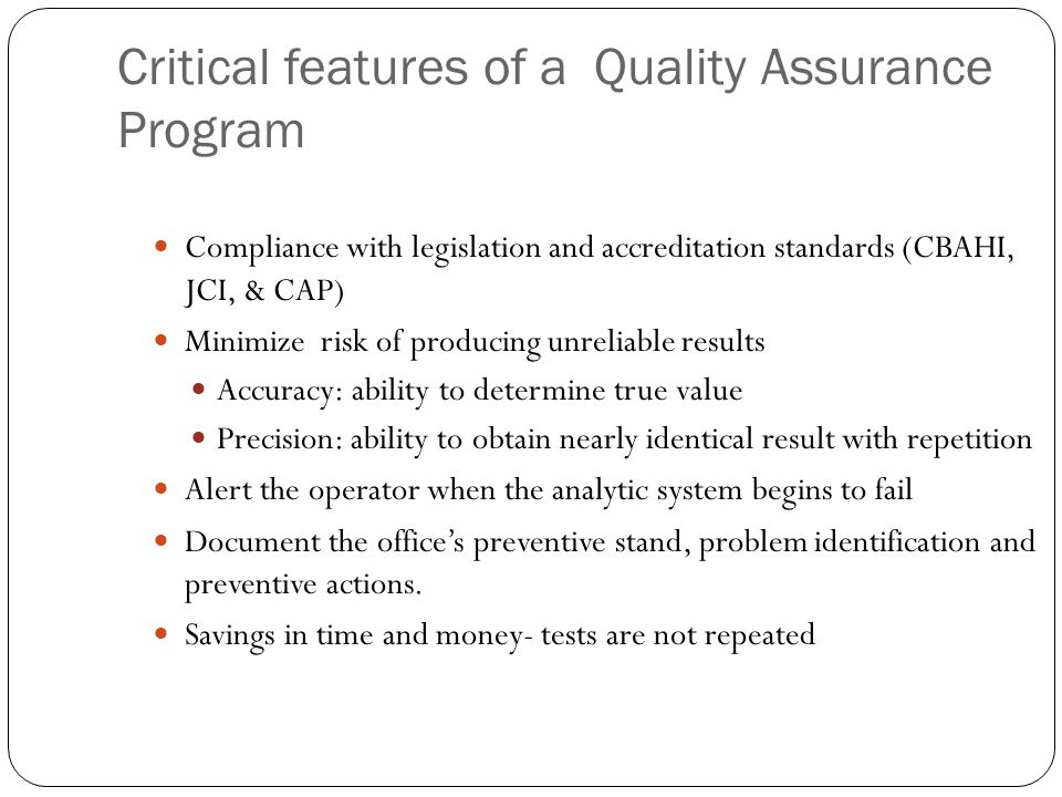 Introduction to Quality Assurance