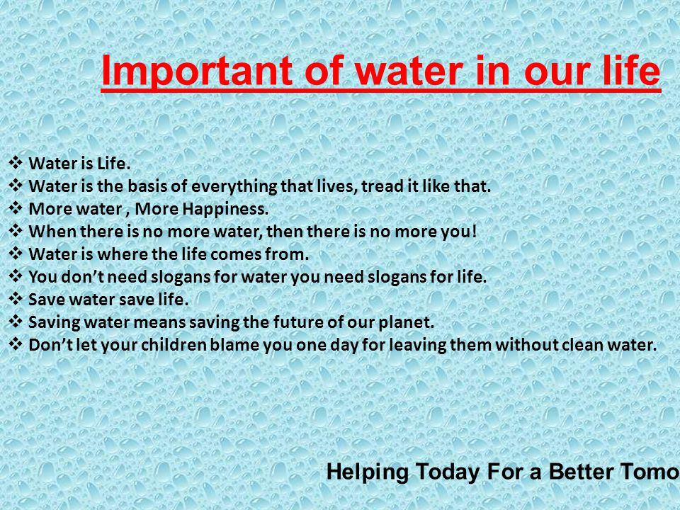 the importance of water in our society Why is waste management important a:  water pollution can occur via several mechanisms, but the most common causes are dumping industrial waste.
