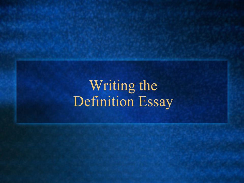 Definition Essay Writing. Outline For A Five Paragraph Essay Essay ...
