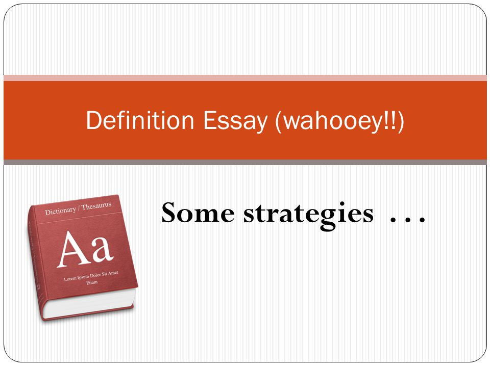 Definition Essay Wahooey  Ppt Video Online Download Definition Essay Wahooey From Thesis To Essay Writing also Yellow Wallpaper Essay  Macbeth Essay Thesis