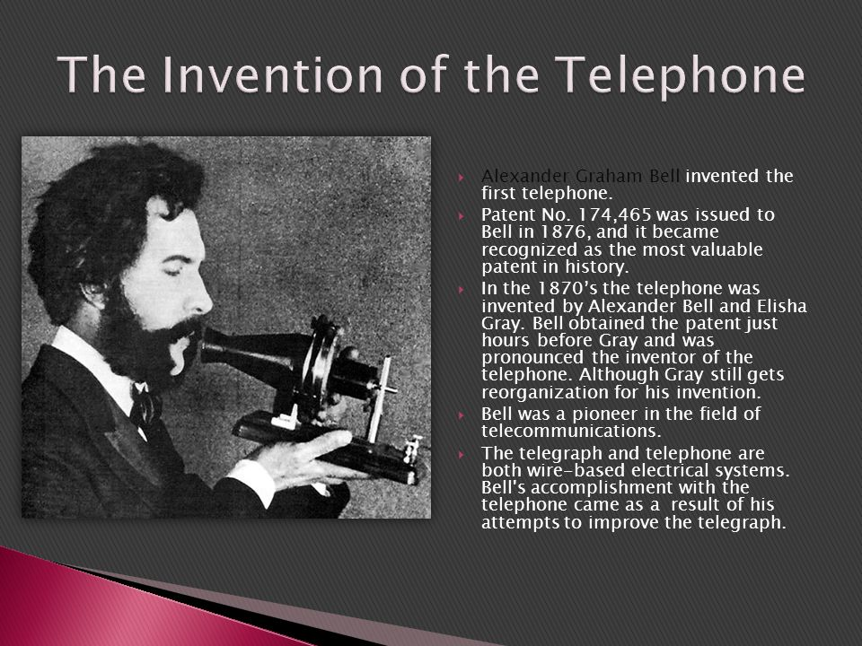 essay about the invention of the telephone The telephone: then and now essay jennifer evans the telephone: then and now humn 303: introduction to the humanities instructor e elliott february 11, 2011 the telephone: then and now the telephone was one of the greatest american inventions.