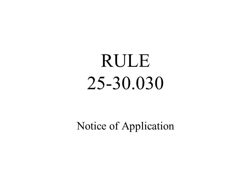Legal Description of Service Area