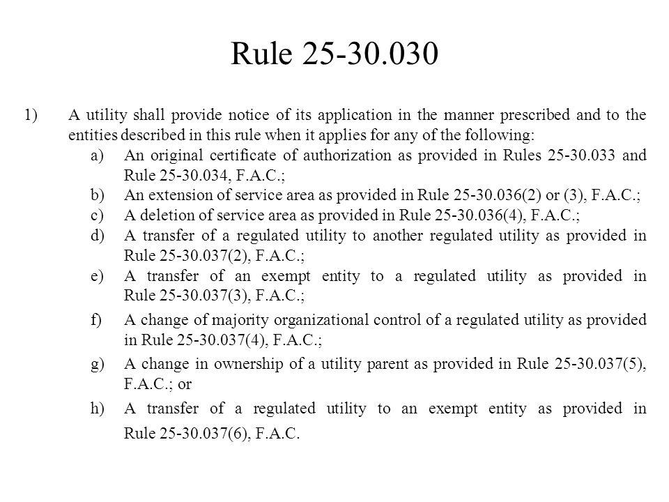 Rule 25-30.029