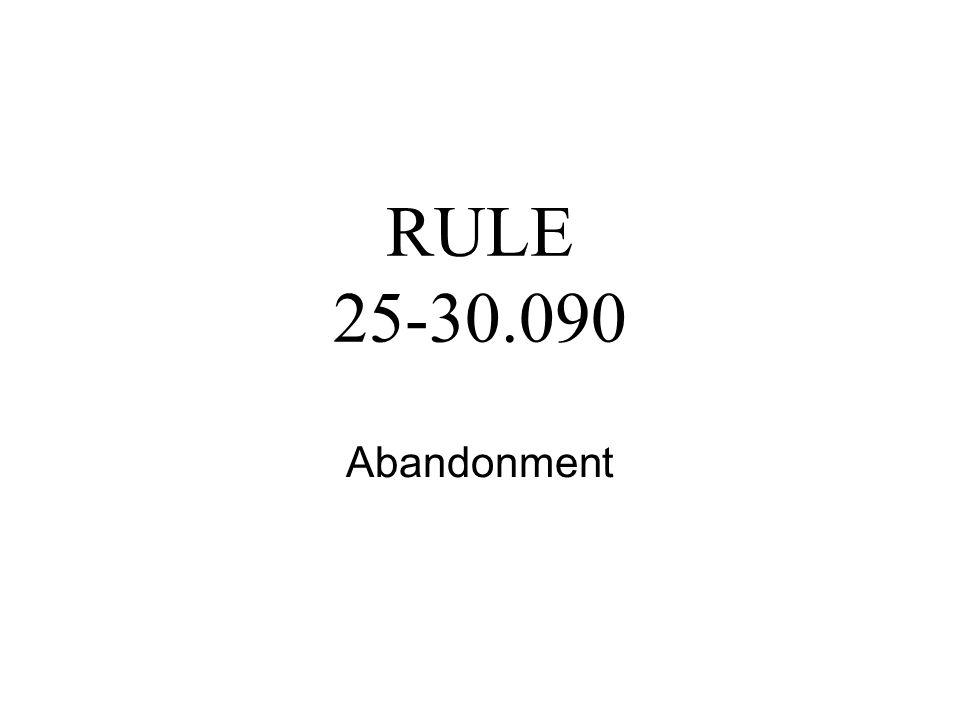 Rule 25-30.039