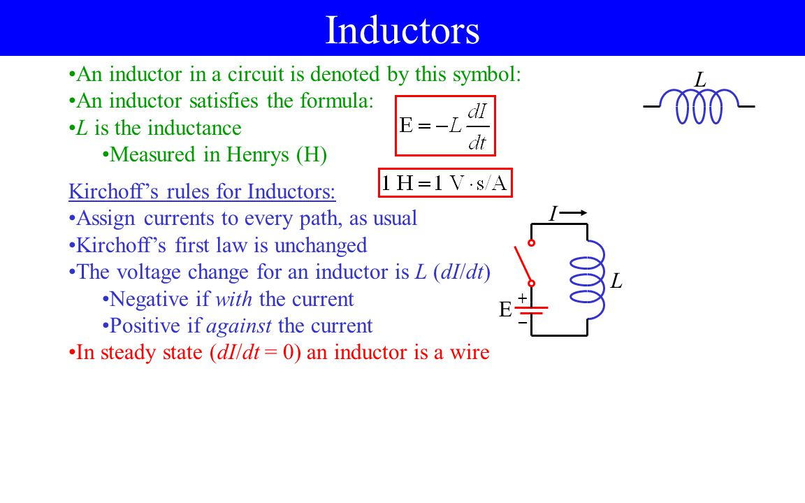 Magnetic Switch Circuit Open Not Lossing Wiring Diagram Light On A Electrical Online Inductance Self Ppt Video Download Ciruit Inside Of