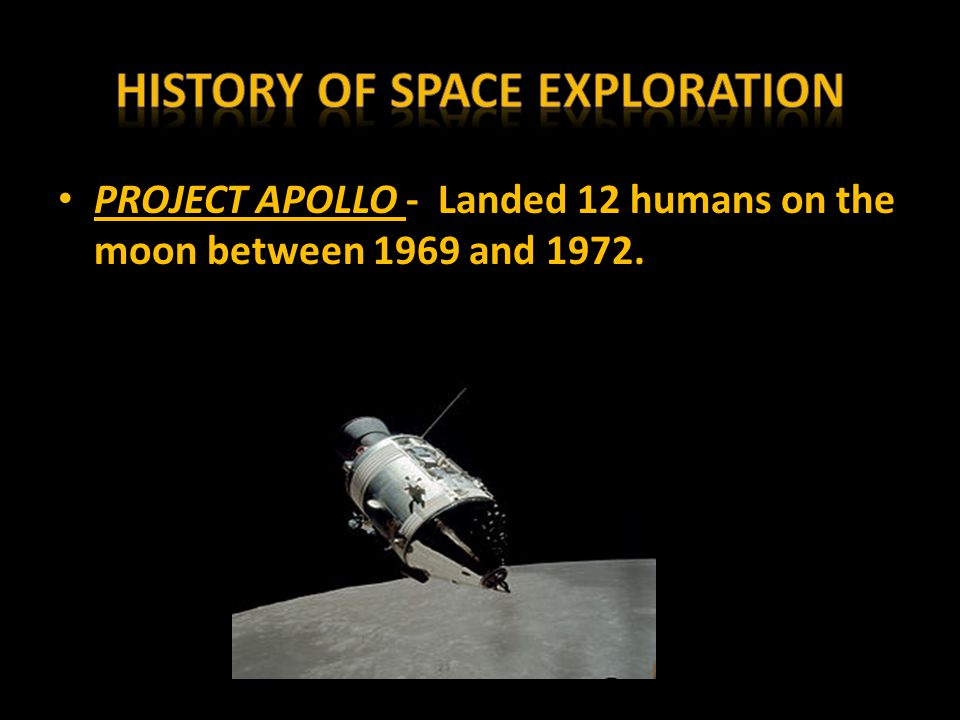 a history of space exploration A history of space exploration [tim furniss] on amazoncom free shipping on qualifying offers the launch of the first rocket in 1926 led to the development of the first long-range.