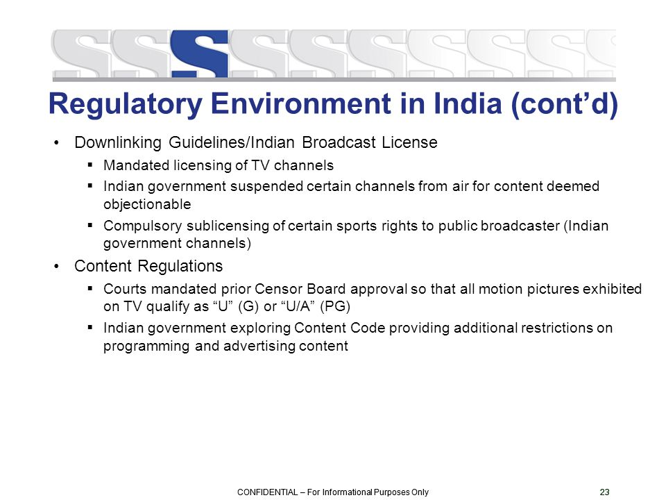 regulatory environment of india Define regulatory environment regulatory environment consists of laws and regulations that has been developed by federal,state,and local governments in order to exert control over business practices.