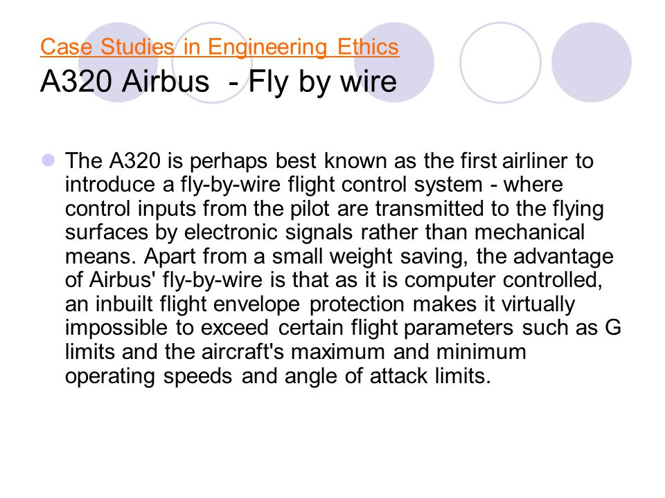 fly by wire system essay Cite this chapter as: (2010) digital fly-by-wire system in: complex system reliability springer series in reliability engineering, vol 0.