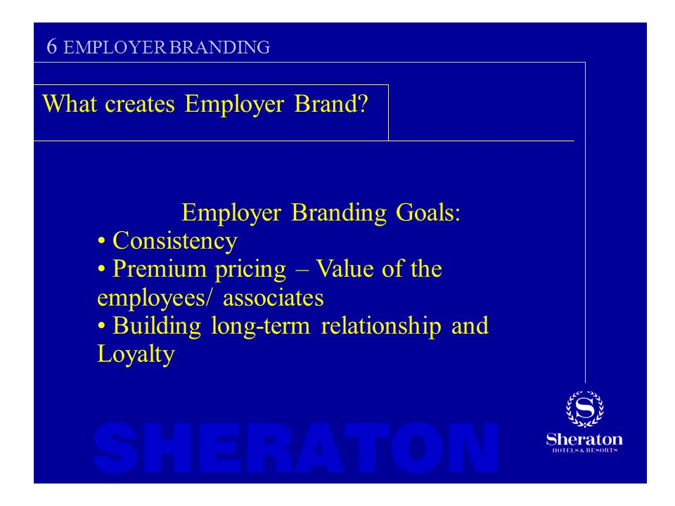 employer branding term paper In such competitive environment, employer branding is fast emerging as a long- term human resource (hr) strategy to attract and retain talented workforce.