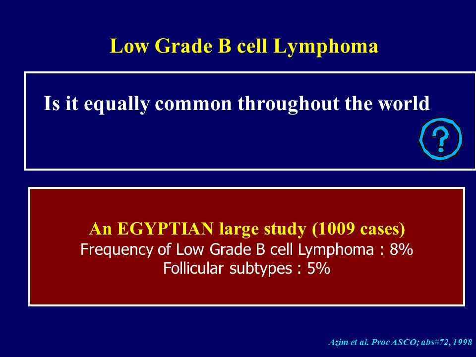 Natural Treatment For B Cell Lymphoma