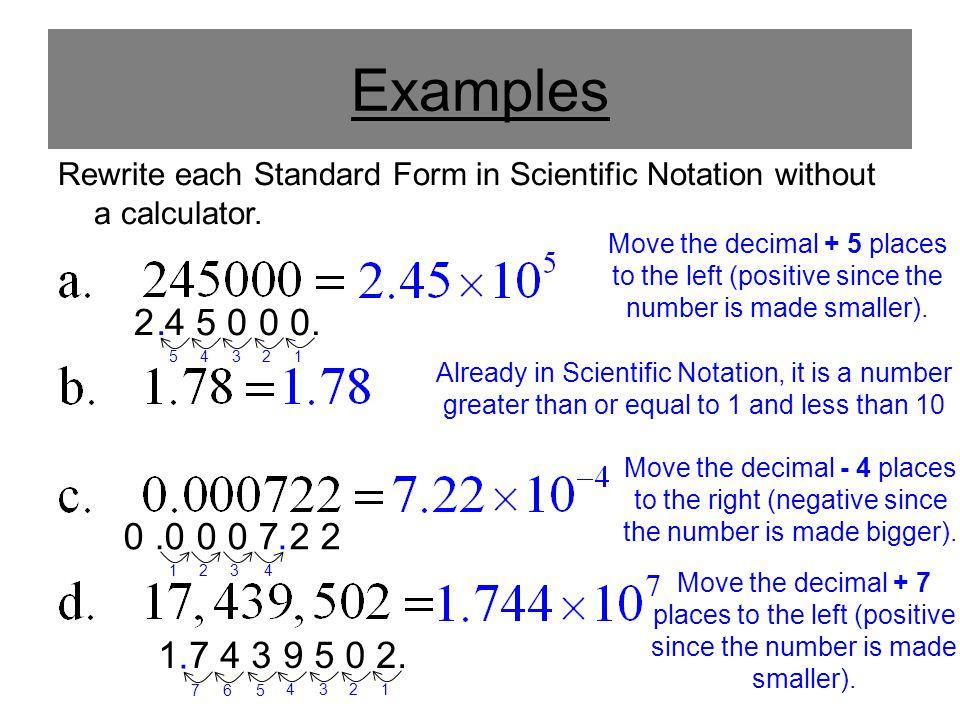 Decimals In Standard Form Calculator Peopledavidjoel