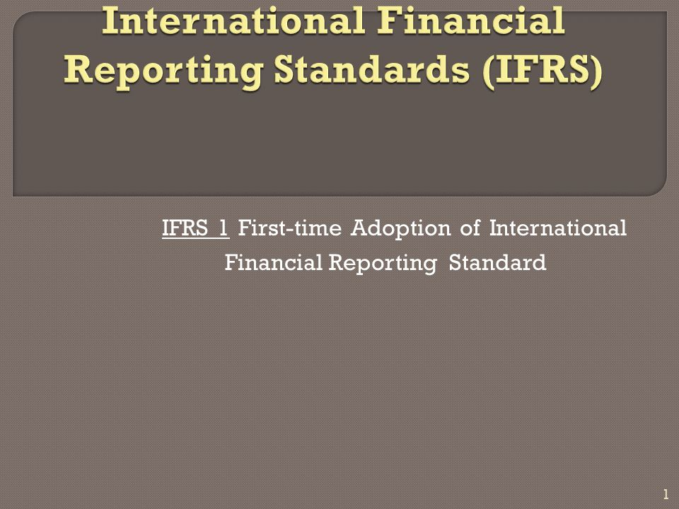 """the objectives and impact of the international financial reporting standards ifrs Introduction the diminishing differences between generally accepted accounting principles (gaap), principally established by the financial accounting standards board (fasb), and international financial reporting standards (ifrs), as established by the international accounting standards board (iasb"""", is narrowing at a faster pace."""