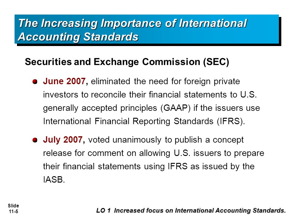 accounting standards and their importance This free accounting essay on accounting standards is  the importance,  subsequently measured at cost and amortized on a procedural basis over their.