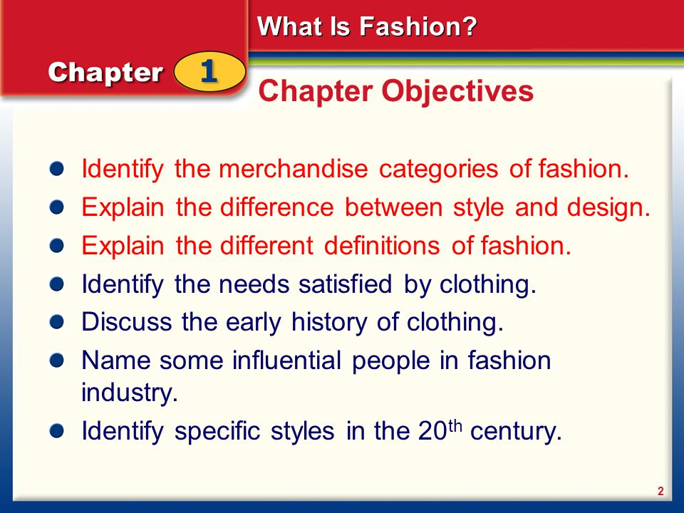 chapter 1 what is fashion introducing fashion fashion history ppt download