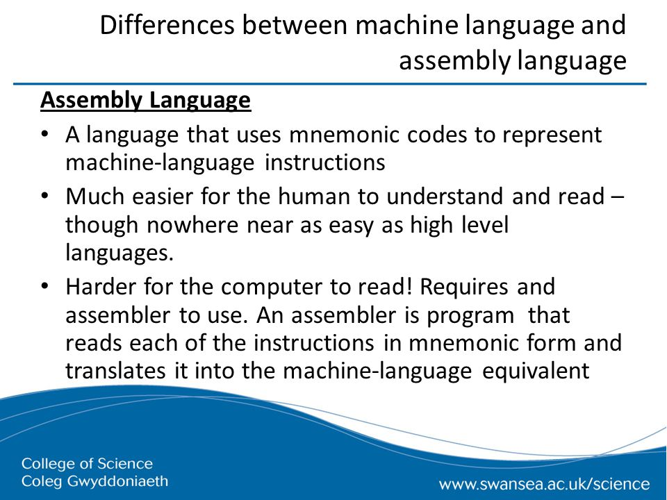 relationship between high level language and machine code