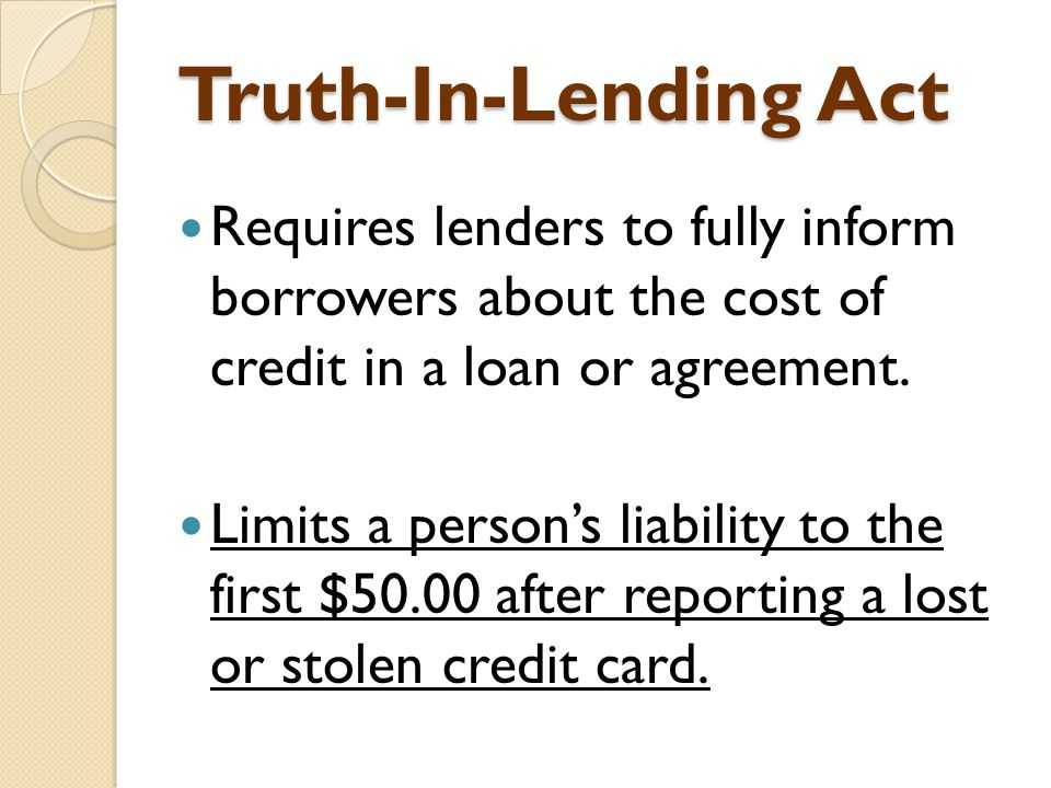 Credit cards more than plastic ppt download truth in lending act requires lenders to fully inform borrowers about the cost of platinumwayz