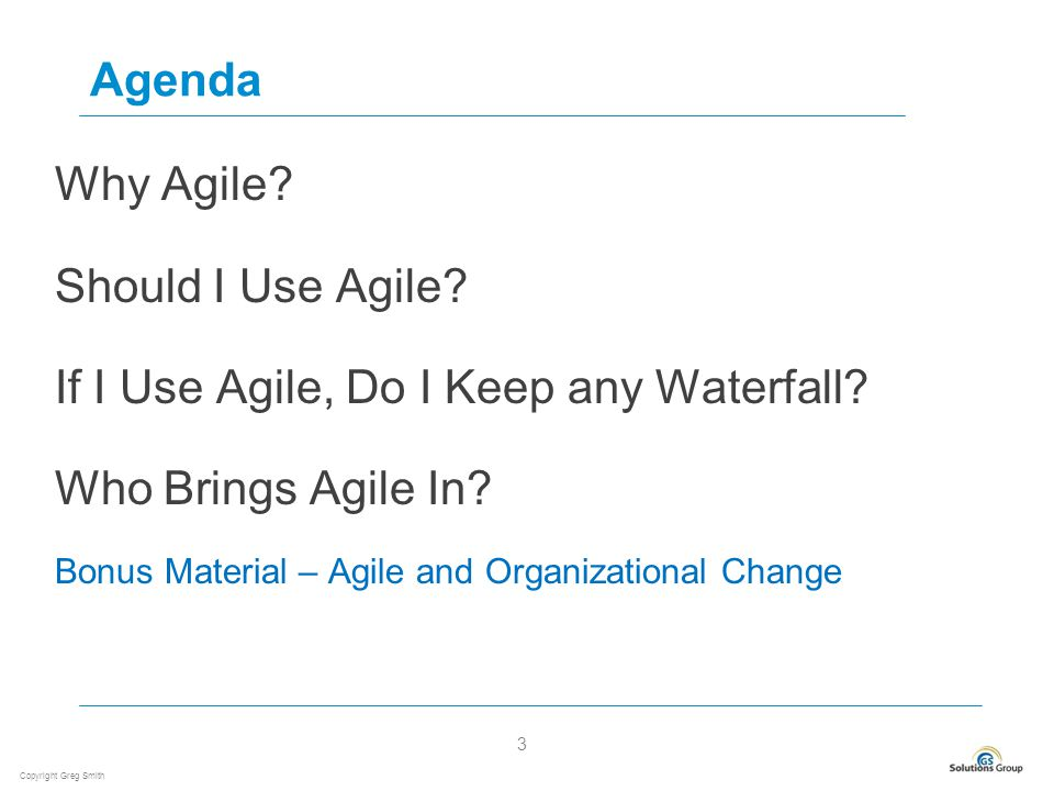 Agile essentials for project managers ppt video online for Why agile is better than waterfall