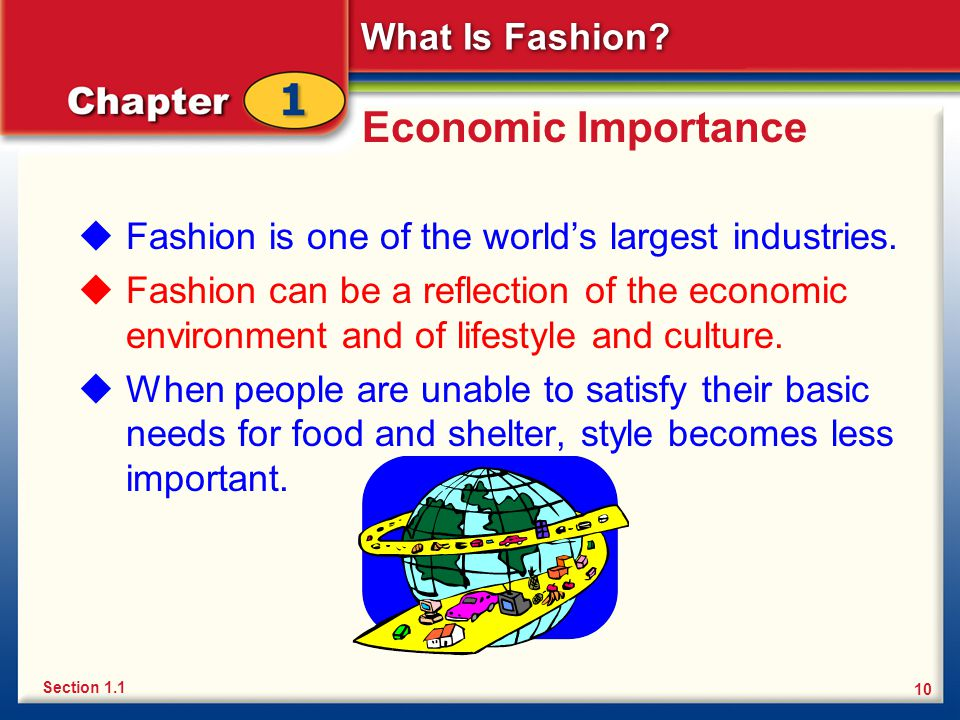 Chapter 1 What Is Fashion Introducing Fashion Ppt