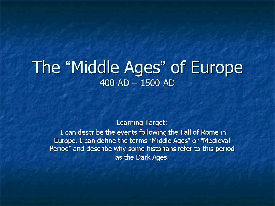 essay dark ages europe Who can edit: