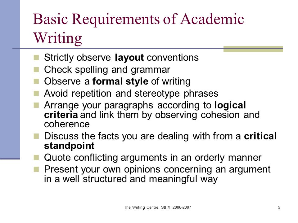 repetition in writing an academic essay In academic writing, you will often need to use acronyms and initialisms however, we frequently see them being misused, especially when they are introduced in an essay.