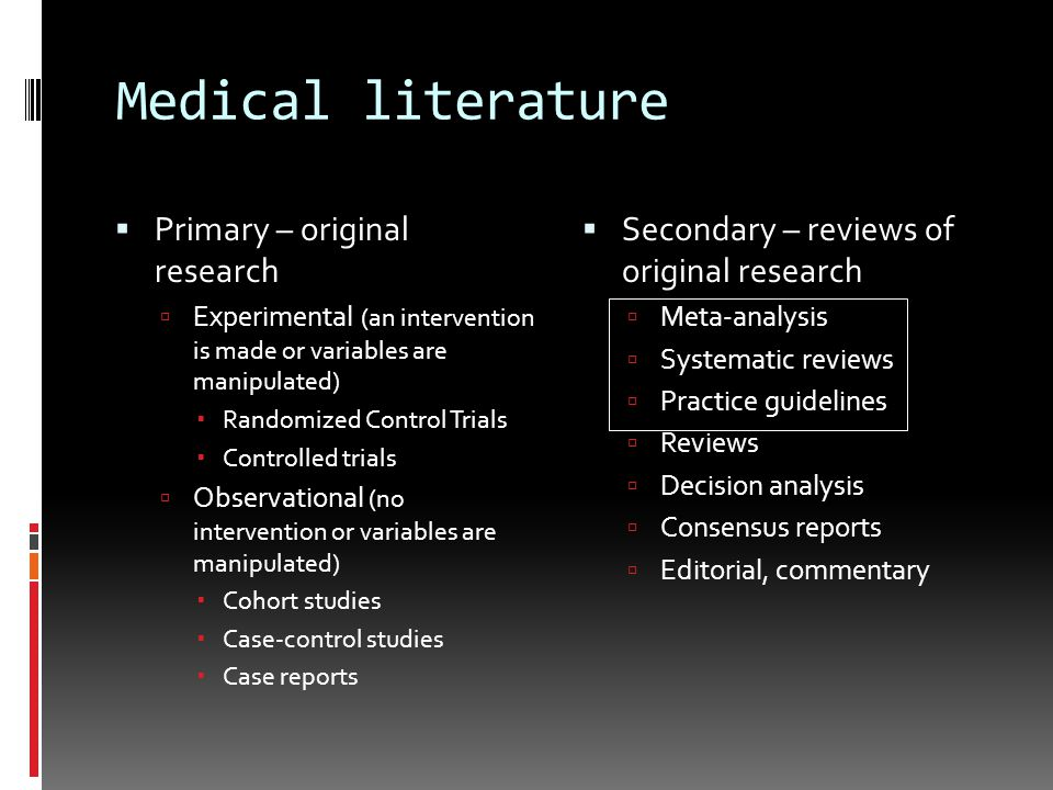 original research paper primary literature Publications that report the results of original scientific research constitute the primary literature and include journal papers, conference papers, monographic series, technical reports, theses, and dissertations.