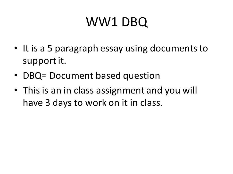 world war one ppt 31 ww1