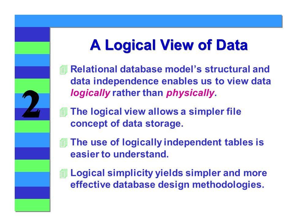 relational database modelling