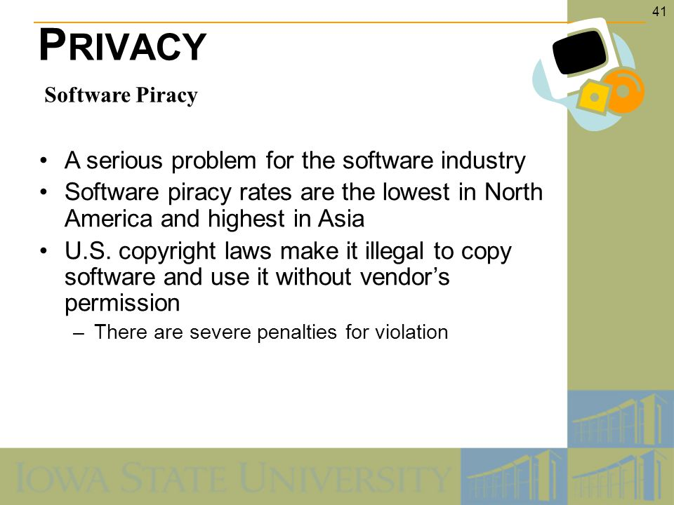 the software piracy issue essay Free software piracy papers, essays of china introduction this paper is an analytical essay on global ethical issues on software intellectual.