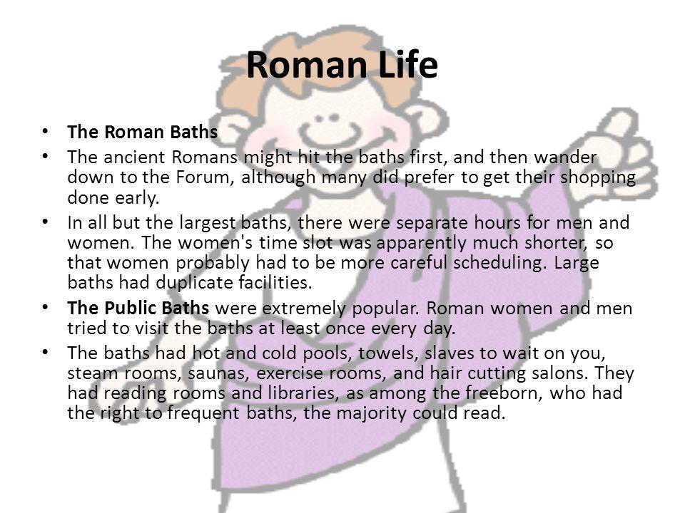 Roman Life Ppt Video Online Download