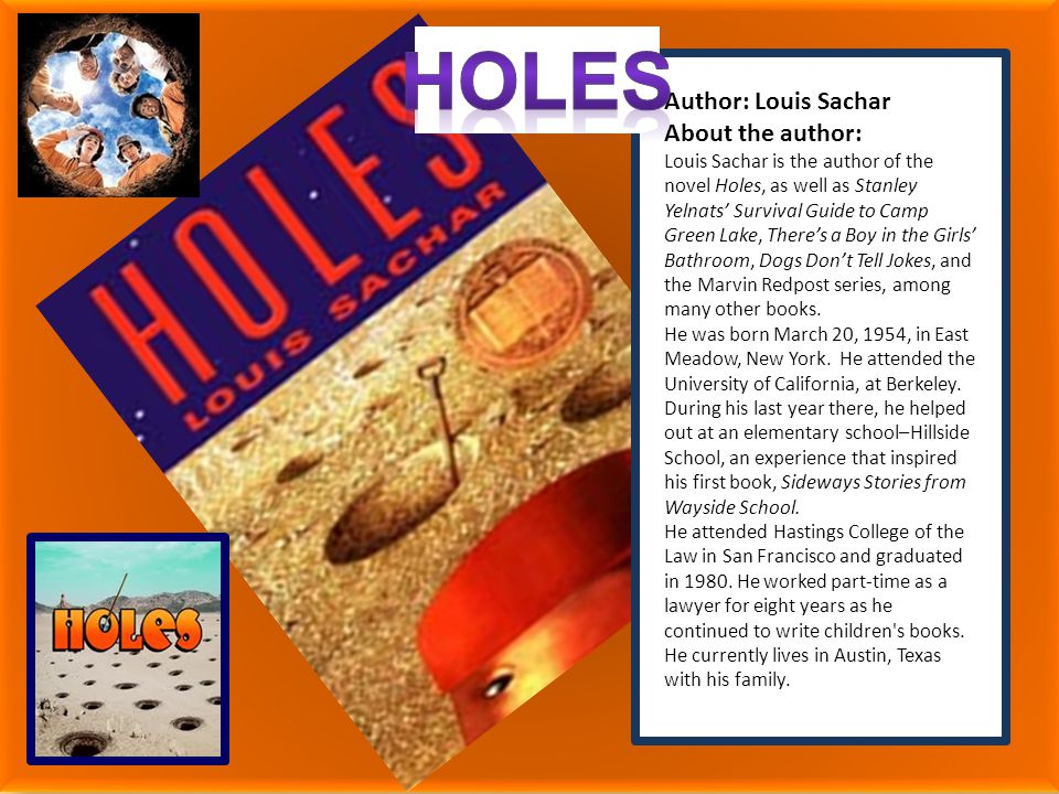 essay on the book holes Holes book summary bookmark this removing #book# from your reading list will also remove any bookmarked pages associated with this title.